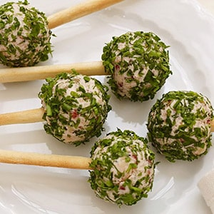 Boursin Cheese Pops with Boursin Cranberry & Spice Cheese