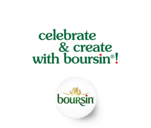 celebrate & create with boursin!